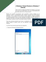 Como Actualizar Windows 7 Home Premium a Windows 7 Ultimate