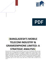 Bangladesh's Mobile Telecom Industry & Grameenphone Limited- A Strategic Analysis