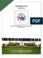 PROSPECTUS 2012-13