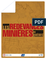 SECOR-KPMG-FMC Les-Redevances Minieres Au Quebec Version Finale
