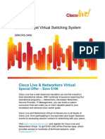 Cisco Live - VSS Breakout Session - Brkcrs-3468