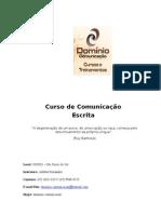 Apostila de Comunicação Escrita - GERED