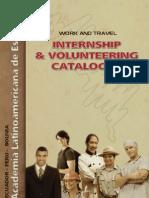 Folleto Internships 2012