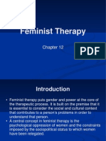 Feminist Therapy
