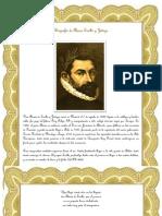 Biografía de Alonso Ercilla y Zúñiga