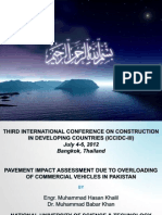 Pavement Impact Assessment Due to Overloading of Commercial Vehicles in Pakistan