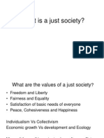 What is a Just Society, Lec 4