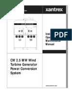 Xantrex 1.3 MW Power Inverter Manual