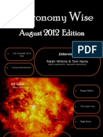 Astronomy Wise August EZine
