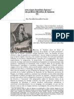 """""""'Cierto negro brasileño leproso' Un sueño político-filosófico de Spinoza"""" (I)   Por Nicolás González Varela"""