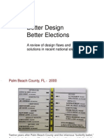 Better Design Better Elections Slideshow