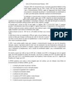 Índice de Desenvolvimento Humano e o PIB X Coeficiente de Gini