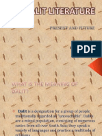Dalit Literature