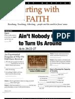 Faith 3 Acts 20-22-27 Handout 080512