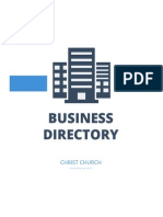 Christ Church Business Directory