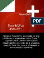 Salvação Jo 3:16