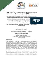 DNI IFAM Comunicadores