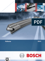 BOSCH CATÁLOGO PALHETAS LIMPADORES 2010  EM PDF