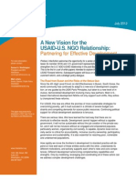 InterAction - A New Vision for the USAID-NGO Relationship