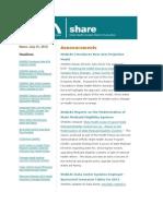 Shadac Share News 2012jul31