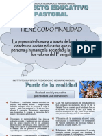 Proyecto Pastoral Del ISPED