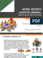 Model Regresi Logistik Ordinal