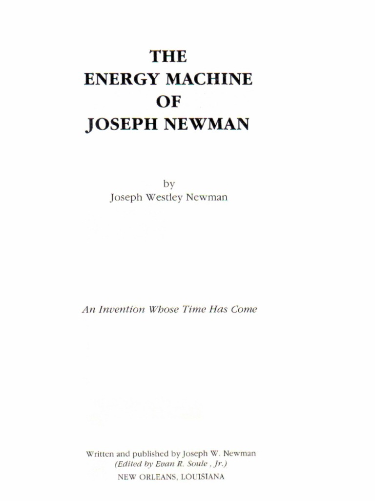 The energy machine of joseph newman 1 of 5 fully searchable text the energy machine of joseph newman 1 of 5 fully searchable text magnetic field force cheapraybanclubmaster Choice Image
