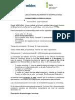 Convocatoria Antel - Canelones Agosto 2012