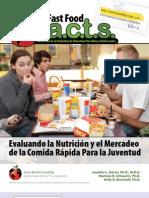 FastFoodFACTS Report Summary Spanish