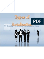 Types of Socialization