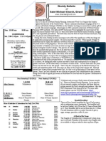 St. Michael's July 22, 2012 Bulletin