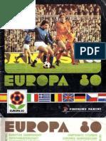 Panini Europa 80