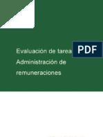 Evaluación de Tareas y Administración de Remuneraciones - Jaime Maristany