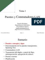 Tema 01-Puentes y Conmutadores LAN