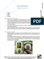 Calourada ABU Uberaba (2ª semestre 2012)