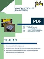 Aplikasi Microcontroller Dalam Dunia Otomasi (B. Arifianto)
