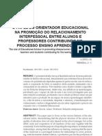 orientador da educaçao