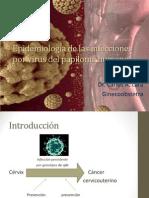 Epidemiologia de Las Infecciones Por Virus Del Papiloma 2