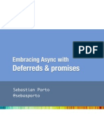 Embracing Async with Deferreds and Promises