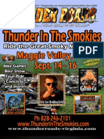 Thunder Roads Virginia Magazine - August 2012