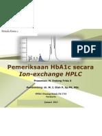 Pemeriksaan HbA1c Secara Ion-Exchange HPLC 2