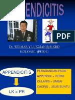 Appendicitis - Typhoid - Peritonitis