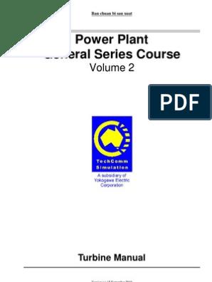 2  Turbine Manual | Steam Engine | Turbine