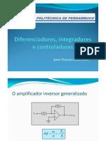 5 -Diferenciadores, Integradores e Controladores [Modo de Compatibilidade]