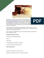 Bizcochos de Chocolate Humedo