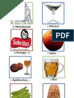 Vocabulario - Alemán Lección 3