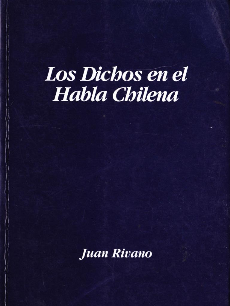 Los Dichos En El Habla Chilena Jesús