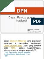Dasar Pembangunan Nasional