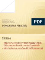 Pengurusan Personel
