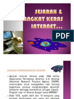 Sejarah & Perangkat Keras INTERNET